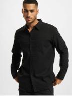 Urban Classics Hemd schwarz
