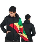 Urban Classics Lightweight Jacket Kids Zig Zag black