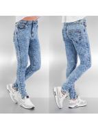 Urban Classics Skinny jeans blauw