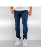 Urban Classics Skinny Jeans Slim Fit Biker blue