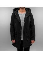 Urban Classics Winter Jacket Sherpa Lined Biker black