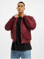 Urban Classics winterjas rood