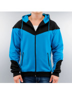 Urban Classics Zip Hoodie Arrow Sweat blau