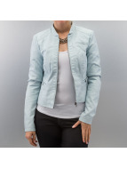 Vero Moda Leather Jacket blue