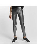 Vero Moda Leggings/Treggings vmSevena Slim Metal silver