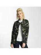 Vero Moda vmMarilyn Camo Jacket Ivy Green
