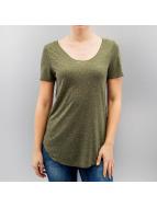 Vero Moda t-shirt olijfgroen