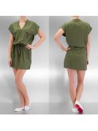 VILA jurk olijfgroen