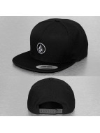 Volcom Snapback Cap Quarter black