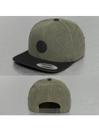 Volcom Snapback Cap Quarter Fabric green