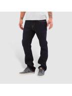 Volcom Straight Fit Jeans Kinkade blue