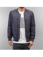 Wemoto Bomber jacket Batley blue