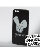Who Shot Ya? Mobile phone cover Bunny Logo iPhone black
