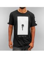 Who Shot Ya? T-Shirt Bulllet Hole black