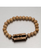 Wood Fellas Armband beige