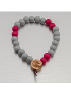 Wood Fellas Bracelet Deluxe Pearl gray
