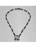 Wood Fellas Necklace MLB NY Yankees Team blue