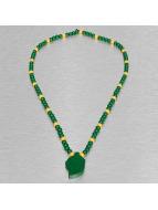 Wood Fellas Necklace Cap green