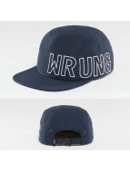 Wrung Division 5 Panel Caps Side blue