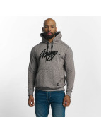 Wrung Division Hoodie Heather Sign gray
