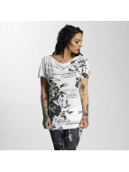Yakuza Dress Flower white