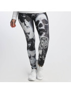 Yakuza Leggings/Treggings Lost City black