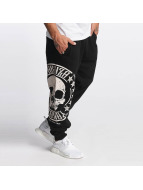 Yakuza Sweat Pant Skull Label black