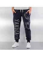Yakuza Sweat Pant Floral blue