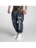 Yakuza Sweat Pant 2Face blue