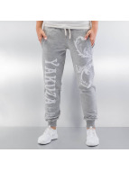 Yakuza Sweat Pant Floral gray