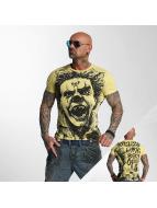 Yakuza T-Shirt King beige