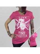 Yakuza T-Shirt Live Vs. Time rose