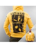 Yakuza Zip Hoodie gelb