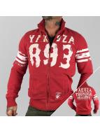 Yakuza Zomerjas Thunder And Lightning Zipper rood