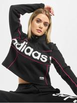Adidas Originals Cropped Sweater Black image number 0