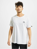 Alpha Industries Basic Small Logo T-Shirt Grey Heather image number 2