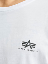 Alpha Industries Basic Small Logo T-Shirt Grey Heather image number 3