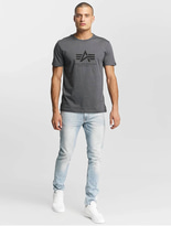 Alpha Industries Basic T-Shirt Dark Petrol image number 2