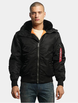 Alpha Industries MA-1 Hooded Jacket Dark Green image number 2