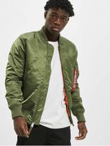 Alpha Industries MA-1 VF 59 Long Jacket Sage Green