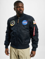 Alpha Industries MA-1VF NASA rep Blue image number 2