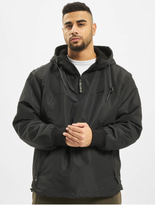Brandit Luke Windbreaker Jacket Black image number 0