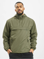 Brandit Light Windbreaker Jacket Olive image number 2