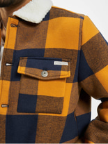 Eight2Nine Jacket Spice Brown/Dark Navy Check image number 3