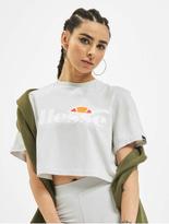 Ellesse Alberta Cropped T-Shirt Light Grey image number 0