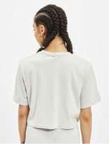 Ellesse Alberta Cropped T-Shirt Light Grey image number 1