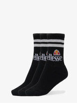 Ellesse Pullo 3 Pack Socks Black image number 0