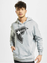 Famous Stars & Straps Composition Hoody Heather Grey image number 2