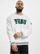 Fubu College Ssl Sweatshirt White/Green/Black image number 0