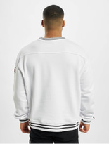 Fubu College Ssl Sweatshirt White/Green/Black image number 1